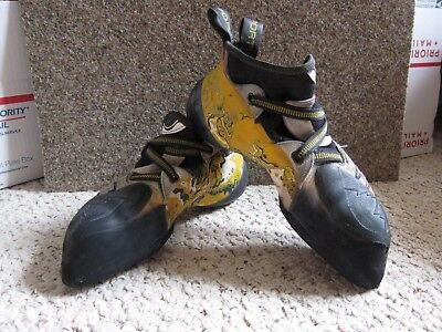 La Sportiva 'Solution' Climbing Shoes size 42, Made in Italy