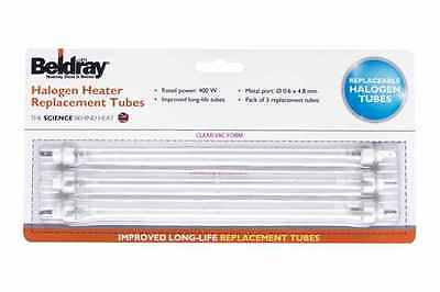 Beldray Halogen Heater 400W Replacement Tubes / Bulbs