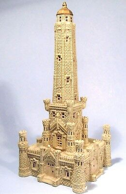"Chicago Water Tower Big 11"" Souvenir Building Marshall Fields City Sights 1998"