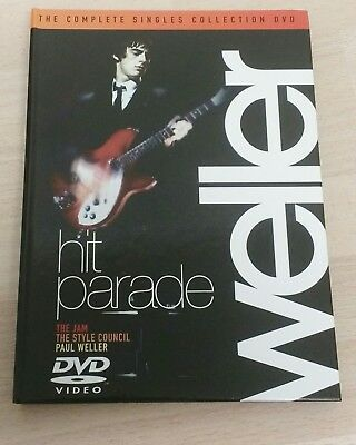 Paul Weller - Hit Parade - Dvd - The Jam - The Style Council