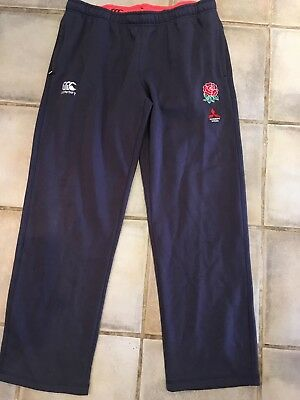 Player-issue England Rugby fleece bottoms