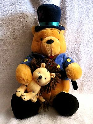 "Beautiful - Winnie The Pooh - Lion Tamer Pooh Bear 15"" Plush - Great Gift Item!!"