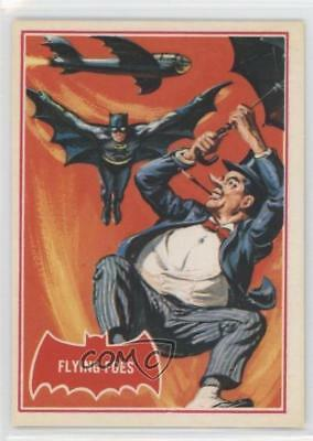 1989 Topps Batman Deluxe Reissue Edition Red Bat #31A Flying Foes Card 2u3