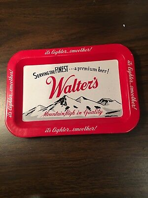 Walter's Beer Tip Tray