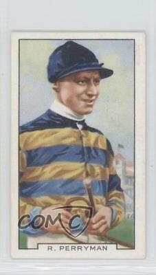 1936 Gallaher Famous Jockeys Tobacco Base #35 Dick Perryman MiscSports Card 1x2