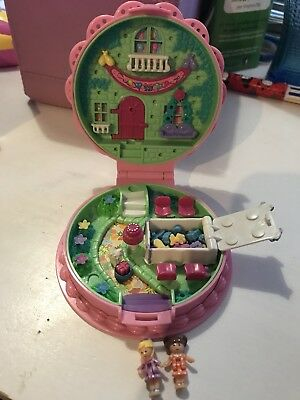 Polly Pocket Boite Anniversaire COMPLET