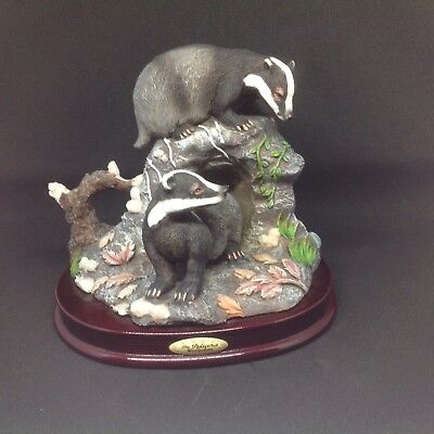 2 Badgers Ornament The Juliana Collection