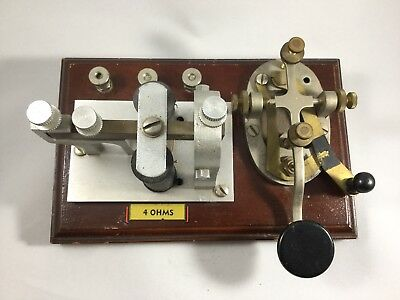 Antique Telegraph Key And Sounder