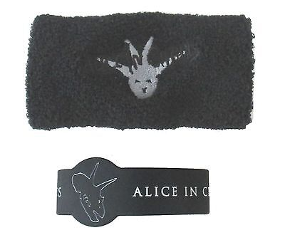 Alice In Chains Dino Demon 3 Piece Gift Set Wristbands Water Bottle New Official