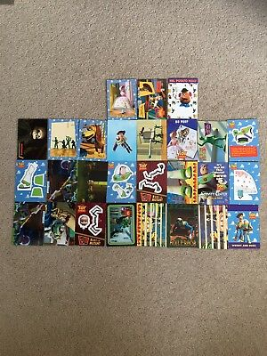 Toy Story Trading Cards (various)
