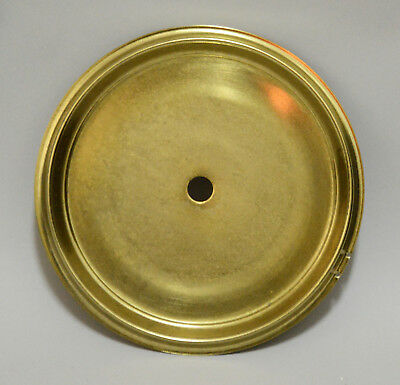 "4-1/2"" Dial Brass Plated Clock Dial Pan, for Kitchen, Gingerbread, Shelf Clock"