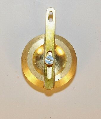 New Haven Style Brass Pendulum Bob for Mantle Clock