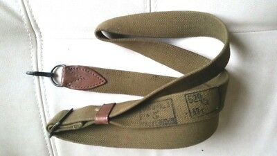Soviet Rus Original  AK-47 sling canvas with 1952 stamp leather patch