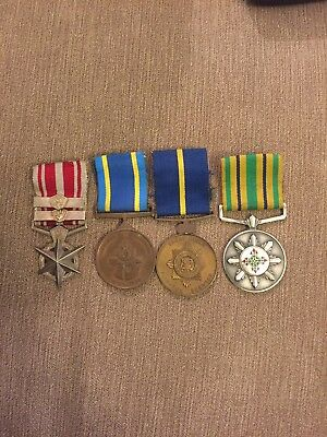 South African Police Medal Group
