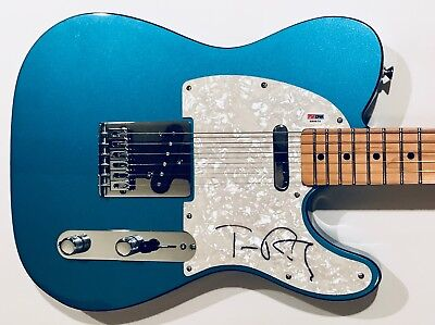 Tom Petty signed guitar Fender telecaster autographed Mexican tele psa dna coa