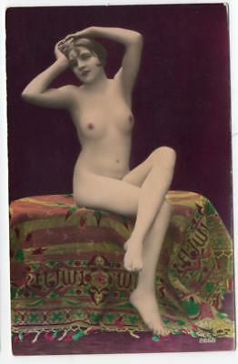 1920s Real Photo Nude French Postcard  SAPI 2668
