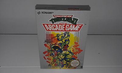 Turtles 2 The Arcade Game (English) (Nes) (Caja + Insert) (Only Box)
