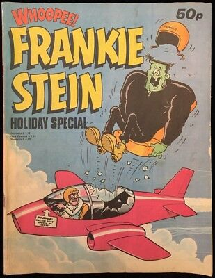 Whoopee! Frankie Stein Holiday Special 1982 - Final Issue - Summer Time Fun!