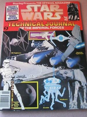 STAR WARS Technical Journal of the IMPERIAL FORCES Offic. Mag. Vol 2 1994 NM