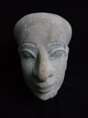 Ancient Egyptian Head of God Ptah (4th to 3rd century BC)