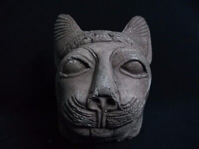 Ancient Egyptian Head of god Sekhmet (1390-1352 B.C)