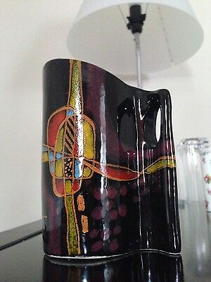 Superb Renzo  Verzolini small Vase Signed