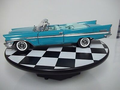 Danbury Mint Limited Edition 1957 Chrysler New Yorker Convertinear Mint With Box