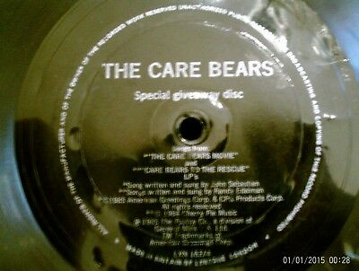 80's - Kids - The Care Bears - Songs From The Care Bears Movie - Flexi-Disc