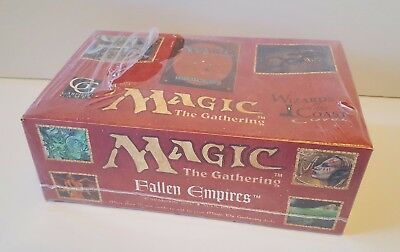 Magic The Gathering FALLEN EMPIRES Booster Box -Factory Sealed - See photos -