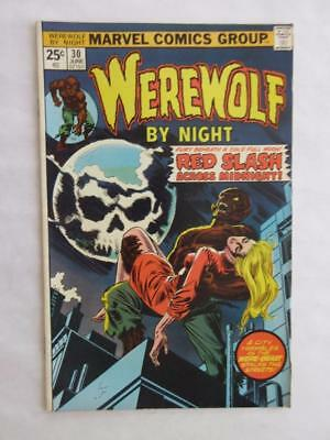 Werewolf By Night # 30 - HIGH GRADE - Horror Stories! MARVEL Check our comics