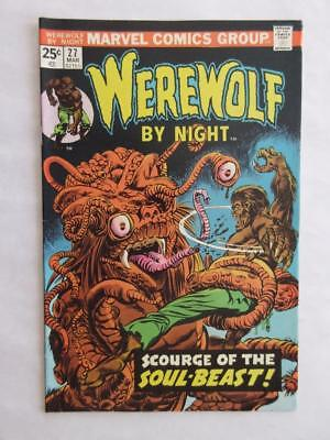 Werewolf By Night # 27 - HIGH GRADE - Horror Stories! MARVEL Check our comics