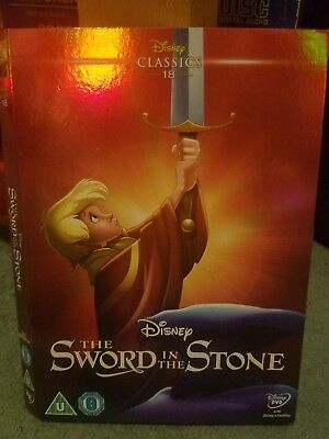 The Sword In The Stone Disney O Ring ONLY (No dvd ) Classic 18