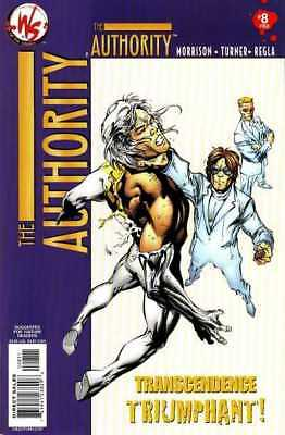 Authority (2003 series) #8 in Near Mint - condition. FREE bag/board