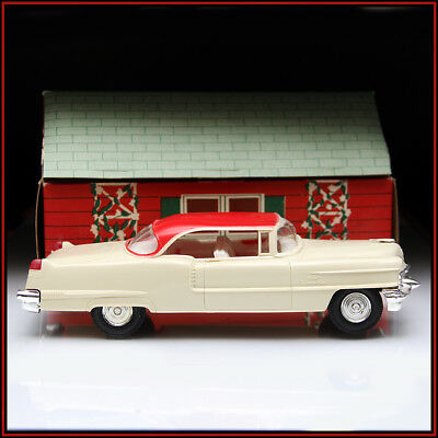 Vintage AMT 1956 ? Cadillac Coupe Deville Dealer Promo Model Car W Box REAL DEAL