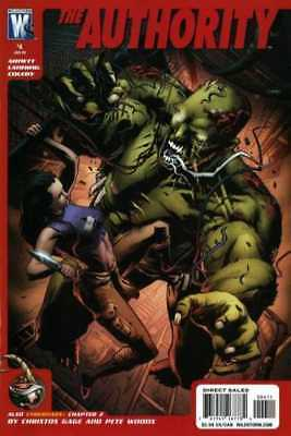 Authority (2008 series) #4 in Near Mint - condition. FREE bag/board