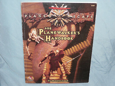AD&D  2nd Edition PLANESCAPE Accessory: THE PLANEWALKER'S HANDBOOK (Very Rare!!)