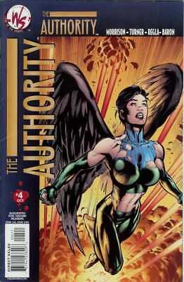 Authority (2003 series) #4 in Near Mint - condition. FREE bag/board