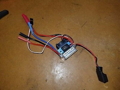 HobbyWing EZRun S10 RTR 60A Brushless ESC 1/10 Scale Traxxas HPI Redcat Losi
