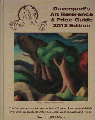 2012 Davenport's Art Reference & Price Guide -1st stop to research an artist