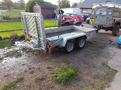 Ifor Williams GH1054BT Twin Axle Plant Trailer