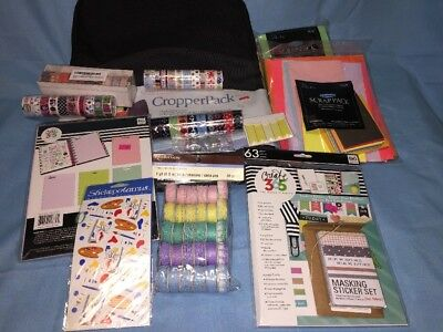 Large  Lot of Scrapbook Embellishments - and cropperPack - ALL NEW