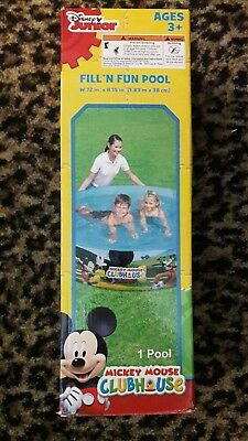 "MICKEY MOUSE CLUBHOUSE FILL N FUN POOL W 72"" X H 15"". Kids Dogs Backyard Disney"