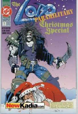 Lobo (1990 series) Paramilitary Christmas Special #1 in Near Mint - condition