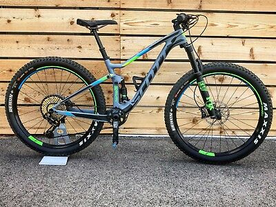NEW 2017 Scott Spark 710 Plus XX1 EAGLE Carbon Mountain Bike SMALL