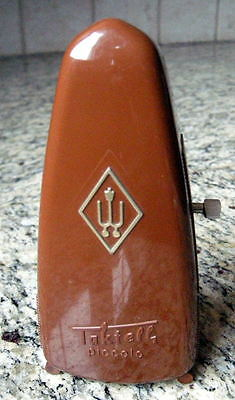 Wittner Taktell Piccolo Keywound Metronome- Brown - Made in Germany