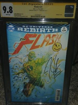 The Flash #21 lenticular CGC SS 9.8 signed by Joshua Williamson