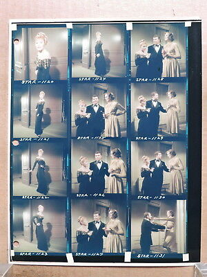 Julie Andrews and Pat Becker color contact sheet of candid photos 1968 Star!