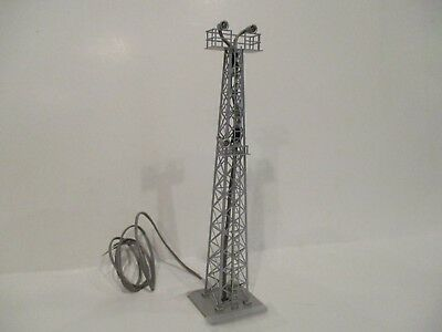 Tomix N Scale Yard Light Tower - 3 Floodlights On Tower - 12 Volt - New In Box!!
