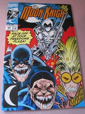 MOON KNIGHT Marvel Comics Faceoff at Four Freedoms Plaza Vol 1 No 43 Oct 1992 NM