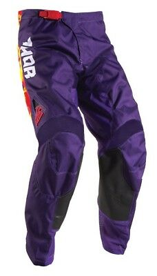 2017 Thor Pulse TYDY Purple Pants youth